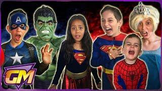 DC Vs Marvel Pranks - Superman, Batman, Hulk, Captain America, Spiderman, guest Elsa and more!