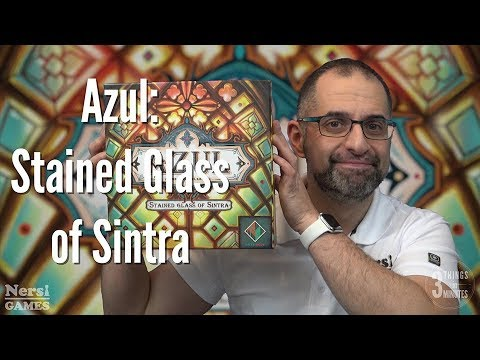 3 Things in 3 Minutes: Azul: Stained Glass of Sintra Review