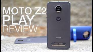 Motorola Moto Z2 Play Review: Return of the Battery King?