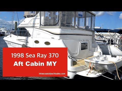 Sea Ray 370 Aft Cabin video