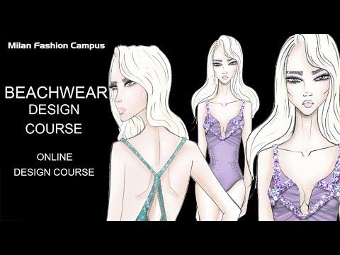 Online Lingerie & Beachwear swimwear Design Course - YouTube