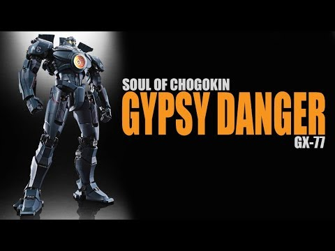 GX-77 Gypsy Danger Pacific Rim Soul of Chogokin Diecast figure review