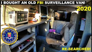 I bought an old FBI Surveillance Van! 2020 Searching Again!