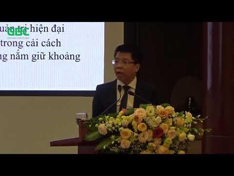 Diễn đàn Quản trị sự thay đổi và Tái cấu trúc DNNN - Ông Hoàng Trường Giang