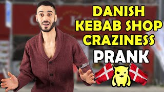 Danish Kebab Shop Craziness (Prank Gone Wrong) - Ownage Pranks