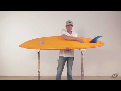 Island Surfboards – Single Fin