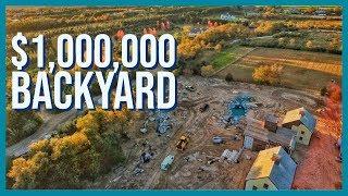 EPIC PONDLESS WATERFALL | Million Dollar Landscape | Long Island, NY