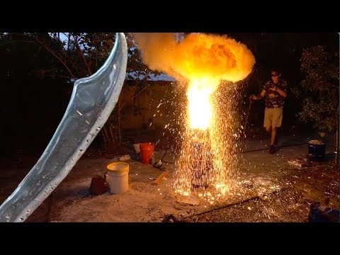 Making a Sword with Thermite