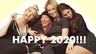 New Years Mukbang (w/ Gabbie Hanna, Juliet Piper, and Christi Fontaine)