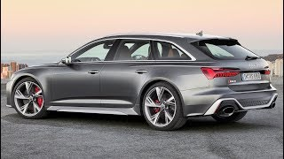 2020 Audi RS6 - High-Performance Avant For All Purposes
