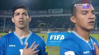 Himno de El Salvador vs Honduras. FIFA World Cup 2018 Qualifiers