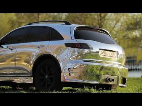 Infiniti FX Chrome by Vinyl Dept (2012)