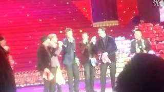 Backstreet Boys actuacion All I Have to Give a Cappella en China - China Spring Festival Gala