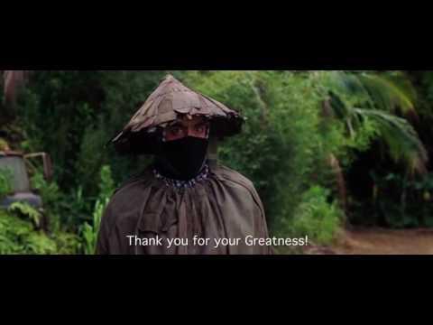 A white american actor playing an austrailian actor, playing an african american, playing a vietnamese farmer.