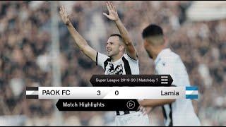 Τα στιγμιότυπα του ΠΑΟΚ-Λαμία – PAOK TV