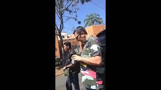 LORD INFLUYENTE AMEDRENTA A POLICÍAS DE CUERNAVACA Y DICE SER VECINO DE CUAUHTÉMOC BLANCO