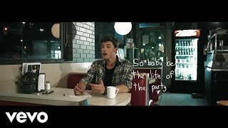 Shawn Mendes - Life Of The Party (Lyric Video) - YouTube