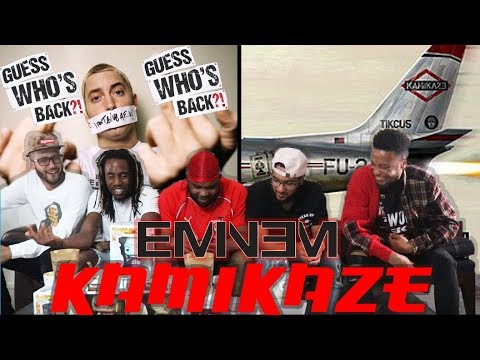 THE REAL SLIM SHADY! EMINEM – KAMIKAZE (FULL ALBUM) REACTION/REVIEW