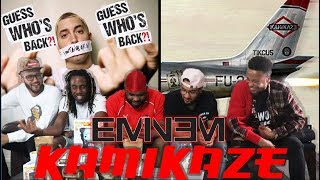 THE REAL SLIM SHADY! EMINEM   KAMIKAZE (FULL ALBUM) REACTIONREVIEW