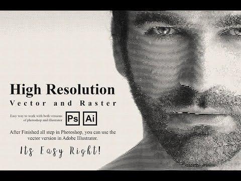 Engraver Photoshop Action Guide - смотреть онлайн на Hah Life