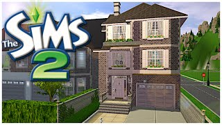 1 QUINCY STREET || Building Greenwood Valley || The Sims 2: Speed Build