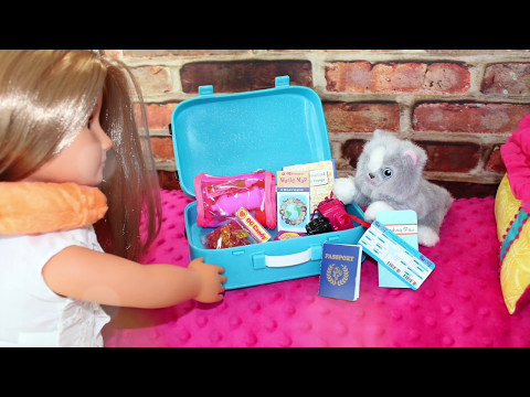 Doll TOY Review   Our Generation Doll Luggage & Travel Set