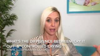 What's The Difference Between Cry It Out & Controlled Crying?