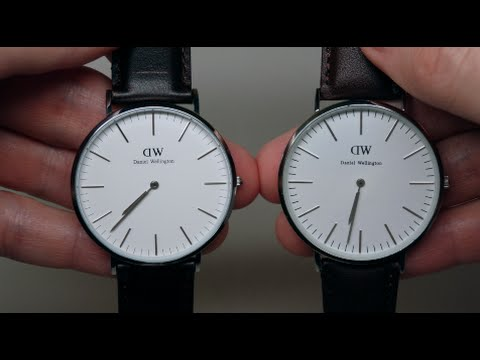 DANIEL WELLINGTON FAKE AND REAL WATCH REVIEW COMPARISON