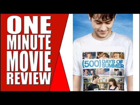 The Best Romantic Comedy – 500 Days of Summer – 5 Star Movie Review Week