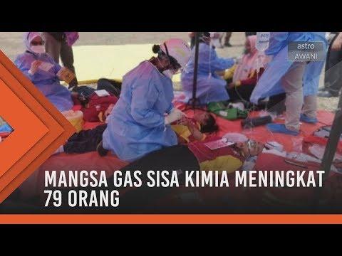 Mangsa gas sisa kimia Sungai Kim Kim meningkat kepada 79 orang