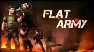 Играем в Flat Army бессмертный воин Alex