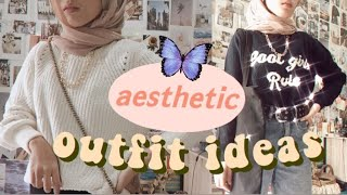 What I Wear In A Week / Aesthetic Outfit Ideas - 🌼  HIJAB LOOKBOOK 🌼