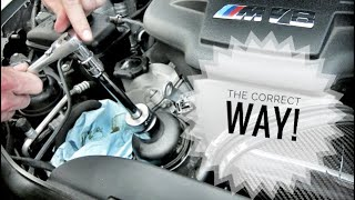 Master Technician Explains How To Change Your BMW M3 Engine Oil