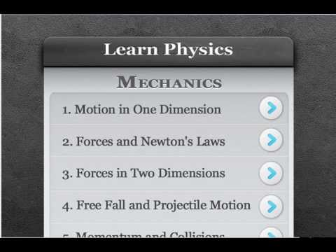 Video of Learn Physics