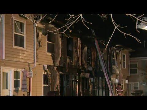 4 people hurt in overnight fire in Monroe