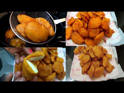 ಪೋಡಿ |ಬಜ್ಜಿ |ಆಲೂಗೆಡ್ಡೆ ಹಾಗೂ ದೀವಿ ಹಲಸಿನ ಪೋಡಿ |Potato And Breadfruit#PriyasMadhyamaKutumbhadaRecipes