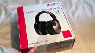 Lindy Premium Hi-Fi Headphones - Unboxing & Review