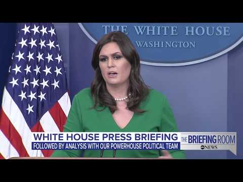 White House press briefing: First following President Donald Trump's Asia trip