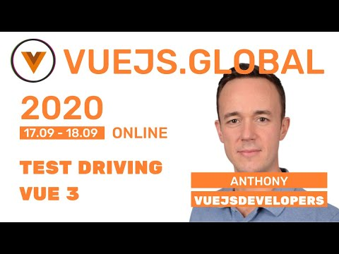 Image thumbnail for talk Test Driving Vue 3