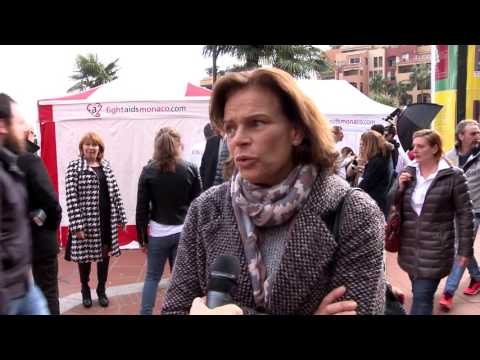 fightaids Monaco : Test in the city !