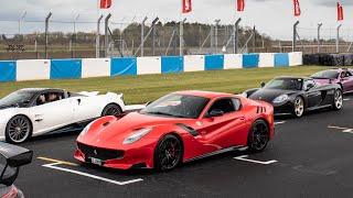 Chasing Hypercars In My Ferrari F12 TDF!