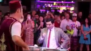 Mr. Bean With Turkish Ice Cream Seller at Pattaya Thailand
