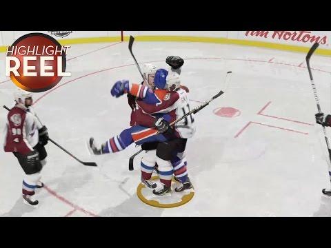 A Hockey Celebration Gets A Little Weird
