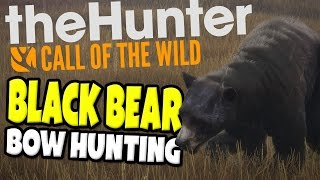 the Hunter Call of the Wild - Black Bear Bow Hunting - the Hunter Gameplay Highlights