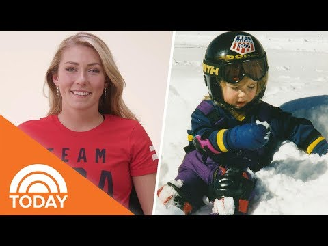 Olympic Gold Medalist Mikaela Shiffrin Gives Advice To Her Younger Self | TODAY