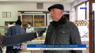 Imazh - Respektimi i masave nga furrat në Prishtinë 26.03.2020