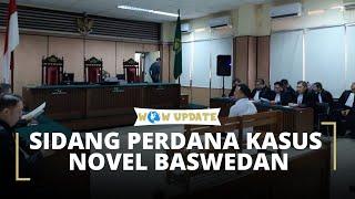 Sidang Perdana Kasus Penyiraman Air Keras Terhadap Novel Baswedan DIgelar