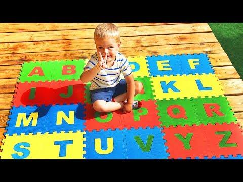 Учим Английский Алфавит | Песенки для Детей