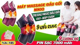 Video giới thiệu máy massage đầu gối rung sưởi cao cấp Nikio NK-185 - Hàng Nhật Bản