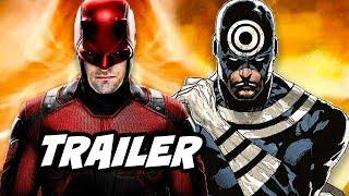 Daredevil Season 3 Official Trailer - Daredevil vs Bullseye Marvel Easter Eggs
